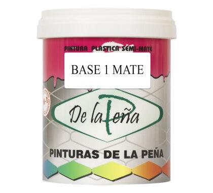 Pintura plástica Base 1 Mate