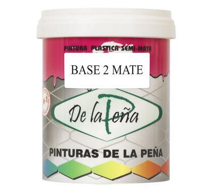 Pintura plástica Base 2 Mate