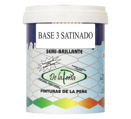 Acrylic paint Base 3 Satin