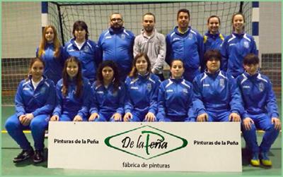 Nuestro equipo de fútbol sala femenino