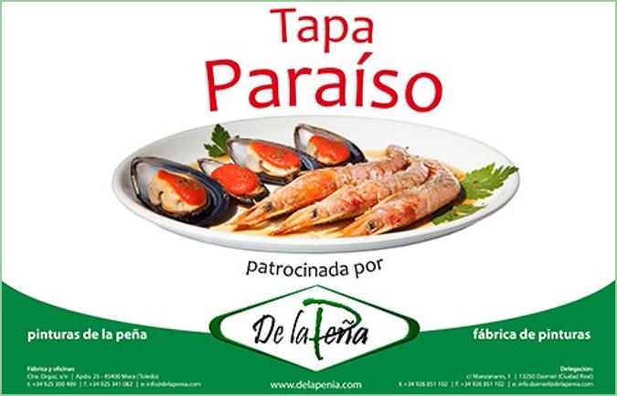 Jornadas Gastronómicas patrocinadas por Pinturas de la Peña