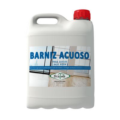 Barniz al Agua para suelos de Madera y Hormigón